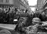 The German army in Prague