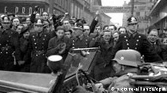 Deutsche Wehrmacht in Prag Archivbild 1939