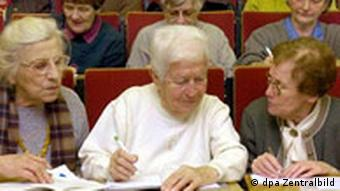 Gerda Lott Senioren Universität in Leipzig