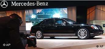 Genfer Auto-Salon Maybach 5.7S