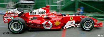 Formel 1 Melbourne Michael Schumacher