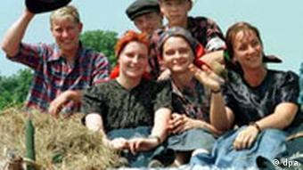 Wendische Festtage 1998 zeigen sorbisches Leben