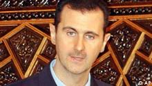 Syrian President Bashar Assad announces that he would pullback his 15,000 military troops from Lebanon to the country's eastern region, to be followed by a withdrawal to the Syrian-Lebanese border, saying the move should satisfy international demands for a complete pullout. Assad's remarks were made during a speech he delivered to the 250-member People's Assembly in Damascus, Syria.(AP Photo Bassem Tellawi).
