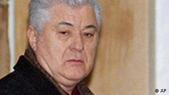 Der moldawische Präsident Vladimir Voronin im Porträt (Archivfoto 2005, AP)