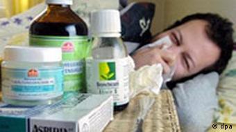 Symbolbild Grippe