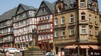 Downtown Marburg