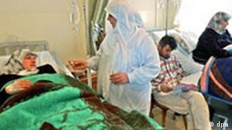 Krankenhaus der Hisbollah im Libanon