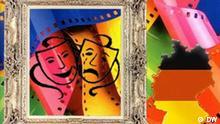 Symbolbild Kultur in Deutschland Film Theater Kunst