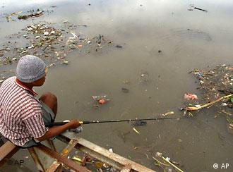 Most rivers in Bali are heavily polluted