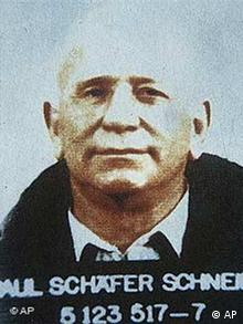 Seen in this undated photo is one of Chile's most wanted fugitives Paul Schaffer, the leader of a secretive German colony in southern Chile.