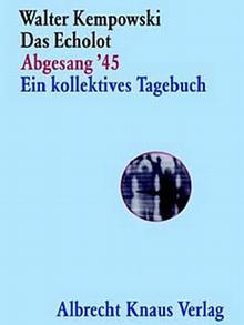 Buchcover: Kempowski - Das Echolot, Abgesang '45