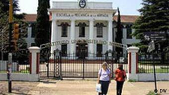 Die Mechanikerschule der Marine, ESMA, diente der Militärjunta als Folterkeller (Foto: DW/S. Leidel)