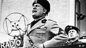 Benito Mussolini (Foto: AP)