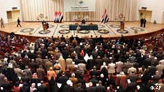 Irak Nationalversammlung in Bagdad