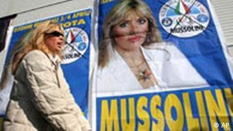 Alessandra Mussolini Wahlen Italien