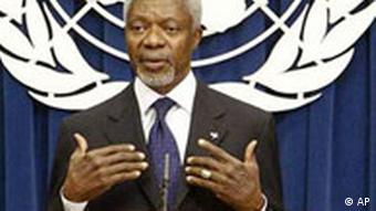 Kofi Annan verlangt UN-Reform