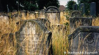 Bayreuths Jüdischer Friedhof (Copyright: Stadtarchiv Bayreuth, Archiv Bernd Mayer)