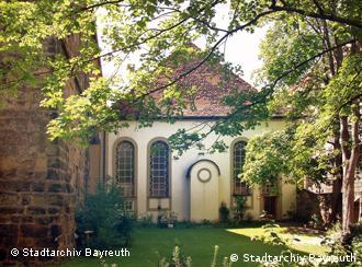Barocksynagoge in Bayreuth (Copyright: Stadtarchiv Bayreuth, Archiv Bernd Mayer)