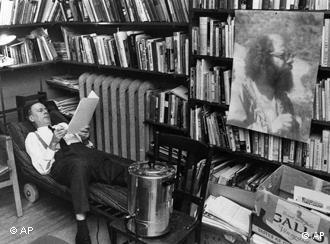 Marshall McLuhan, pictured in his study in 1968