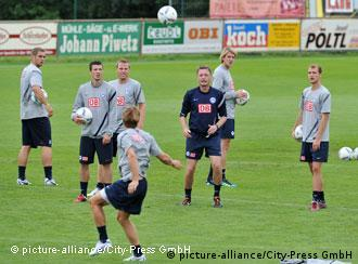 Hertha BSC im Trainingslager (Foto: picture alliance)
