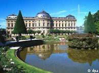 Бавария. Замок в Вюрцбурге. В списке ЮНЕСКО с 1981 года