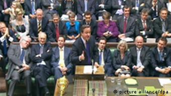 David Cameron Parlament Abhörskandal News of the World Murdoch