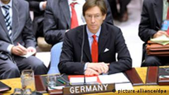 Germany's Ambassador to the United Nations, Peter Wittig