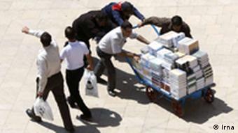 Buchmesse in Teheran Iran 2011