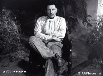 Undated photo of artist Lucian Freud