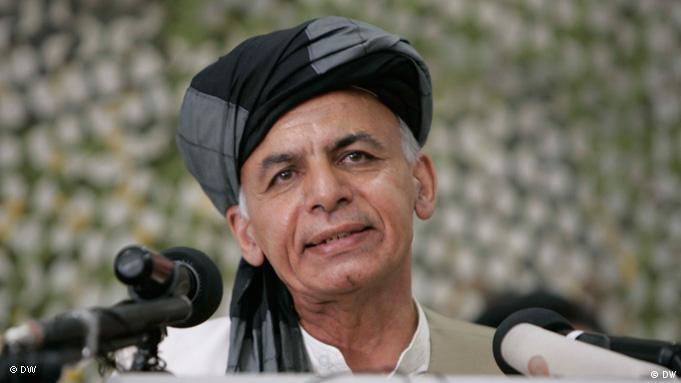 Ashraf Ghani (Photo: Hoshang Hashemi / DW)