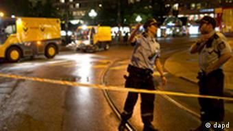 Militares interditaram centro de Oslo