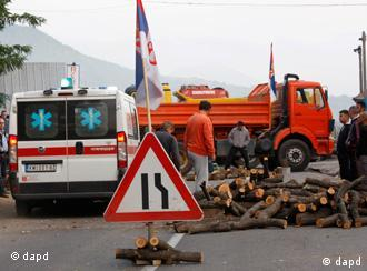 Granični prelaz na sveru Kosova