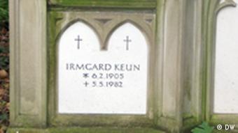 Keun's gravestone in Cologne