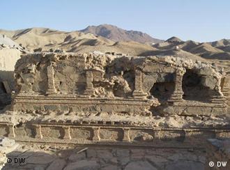 Die Ausgrabungsstätte in Mes Aynak soll einer Kupfermine weichen (Foto: DW)