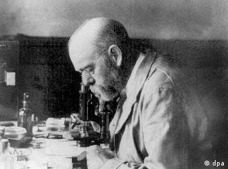 O médico e bacterologista alemão, Robert Koch, ganhou o Prêmio Nobel da Medicina pelo descobrimento da bacilo da tuberculose