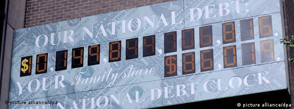 The debt clock