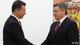 Nikola Gruevski und Gorge Ivanov