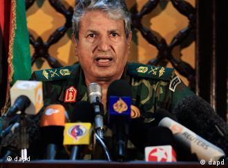 عبدالفتاح یونس، فرمانده مخالفان، وزیر کشور سابق لیبی بود