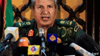 Libyan rebel military leader Abdel-Fattah Younis