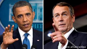 President Barack Obama and John Boehner