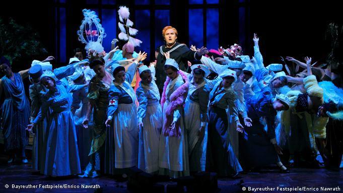 Parsifal, Probenfoto von 2011 (Handout), 2. Aufzug: Simon O'Neill als Parsifal. Die Oper von Richard Wagner wird bei den 100. Bayreuther Festspielen erstmals am Donnerstag (28.07.2011) aufgeführt. Foto: Bayreuther Festspiele/Enrico Nawrath/dpa