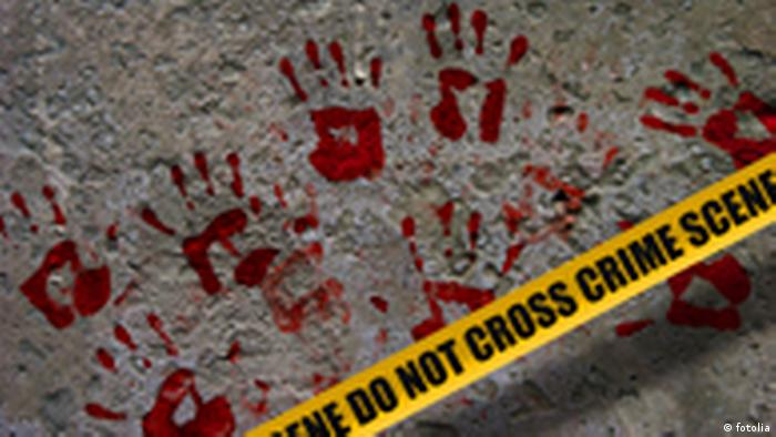 Crime Scen Do not cross Symbolbild Verbrechen