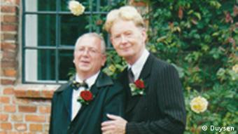 Wolfgang, left, and Werner Duysen