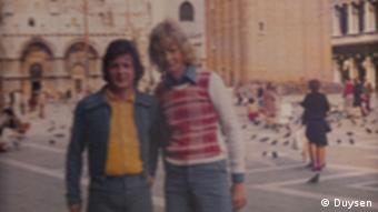 Wolfgang, left, and Werner Duysen in Venice