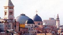 Die Grabeskirche in Jerusalem