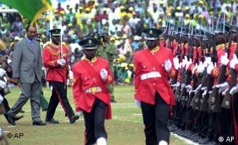 Präsident Amani Karume aus Sansibar