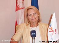 Irena Tatarzynska, ambasadorja e Polonisë në Tiranë