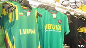 Футболки с надписью Литва