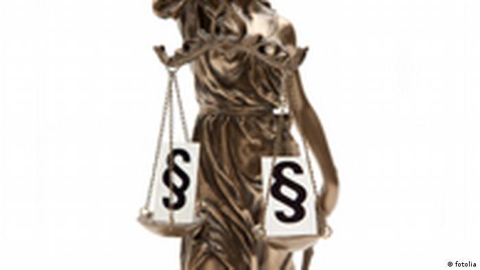 justitia rechtsprechung Symbolbild