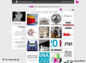 Artconnect Berlin website